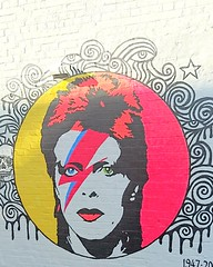 ZIGGY (cheshycat) Tags: ziggystardust davidbowie streetart graffitiart sydneyaustralia musicicon singer