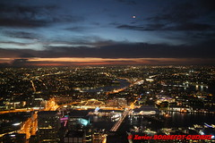 Sydney by Night from Sydney Tower - Darling Harbour (soyouz) Tags: aus australie geo:lat=3387061932 geo:lon=15120903566 geotagged newsouthwales sydney nuit sydneytower darlingharbour sunset lumiere australiel