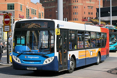 24173 PO59 MXG (Cumberland Patriot) Tags: stagecoach north west on merseyside in liverpool glenvale transport man 18240 adl alexander dennis enviro 300 e300 po59mxg 24173 low floor single deck decker saloon buses queen square bus station city centre passenger road vehicle