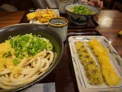 P1460854Lr (photo_tokyo) Tags:    jp portoftokyotour  udon   tikuwatempura ikaten  negi
