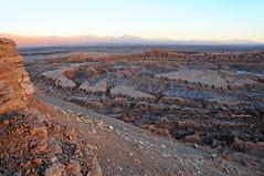 Sunset over Valle de la Luna near San Pedro de Atacama / Chile (anji) Tags: chile southamerica americasur latinamerica northernchile valledelaluna sanpedrodeatacama atacamadesert