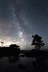 Stargazing (Jennikovalainen) Tags: milkyway space astrophotography astronomy autumn canonphotography canon chasinglight porkkalanniemi porkkala explore stars starscape nightsky nightphotography night reflection landscape longexposure