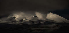 Catatonia Synthesis (DBPhotographe) Tags: panorama islande montagne hiver neige froid glace ambiance noir chaud david bouscarle snaefellsnes pninsule