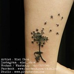 Dendelion Fairy Tattoo