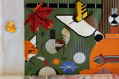 September 11 2016 Sunday Afternoon (interchangeableparts) Tags: biodiversityintheburbs charleyharper needlepoint treglowndesigns
