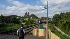 Swanage Railway 06 (Matt_Rayner) Tags: swanage railway corfe castle station steam train manston battle of britain class