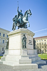 King Ludwig I (chrisdingsdale) Tags: architecture art bavaria bavarian blue bright bronze building city europe famous flowers german germany historic horse king landmark ludwig monument munich old revolution ride sculpture sightseeing sky states statue symbol tourism upper urban vintage