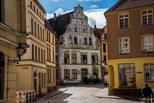 2016 - Baltic Cruise - Wismar - Streets