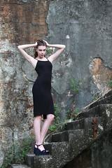 DP1U0001 (c0466art) Tags: charming attractive ukraine girl dasha keelung photography society portrait activity black long tight skirt elegant pose action cool feeling light canon 1dx c0466art