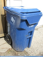BFI Trash Cart (TheTransitCamera) Tags: bfi browning farris industries rehrig republic services waste industry hauler collection trash recycle garbage rubbish basura