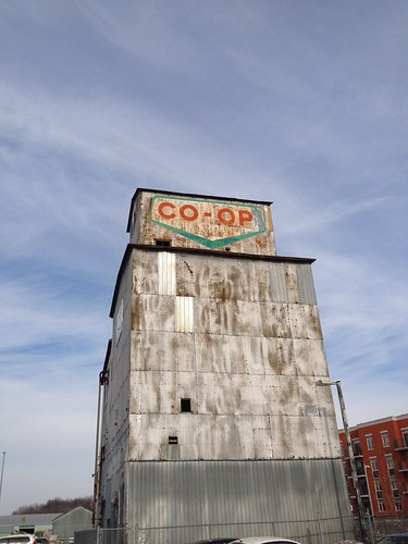 Stoufville Co-Op Grain Elevator