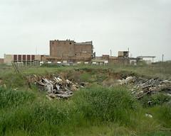 Trash Pit (vphill) Tags: kodak 4x5 chamonix 160vc