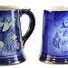 3016. Two Brunt Art Ware Advertising Mugs