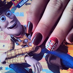 Wooody Nails *_* (Maandy Nay) Tags: toystory woody nails unhas nailsoftheday clubedoesmalte unhascapricho unhastoystory