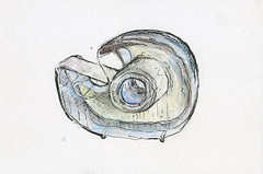 scotch tape like the drink (minor. chark. the free. dts438. crs.) Tags: chicago color colour water pen pencil watercolor painting is sticky hard clear tape watercolour scotch tapes markers crs piant shxt