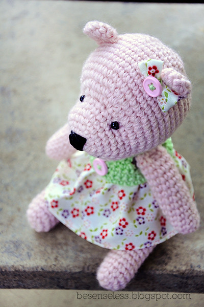 Grey Bear Amigurumi Crochet Pattern : The Worlds Best Photos by airali_gray - Flickr Hive Mind