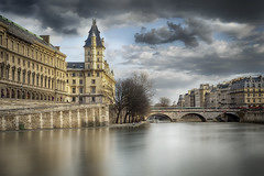Paris : Quai des Orfèvres (Laurent photography) Tags: street city longexposure bridge light wallpaper sky cloud paris france color colors architecture photoshop french geotagged photography nikon europe flickr cityscape historic pont hd 365 nikkor fx hdr couleur ville paris5e supershot edgeoftown anawesomeshot dailyfrenchpod d700 infinestyle theartistseyes noblearchitecture masterpiecefromparis laurentphotography
