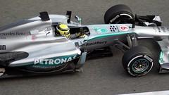 2013 Nico Rosberg - Mercedes F1 W04 - F1 Test Days Montmeló d1 DSC03970e (antarc foto) Tags: nico rosberg mercedes f1 w04 fo 108z 2013 formula one test days montmeló circuit de catalunya catalonia formula1 sony dslr a230 tamron af 70300 barcelona barcelone 9