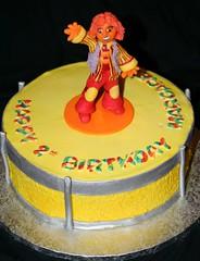 DoodleBop's Moe Cake (Paula's Custom Cakes) Tags: birthday cake drum mo moe doodlebobs