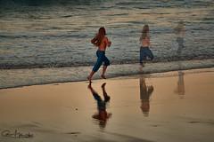 la escapada (Cani Mancebo) Tags: sunset man men grancanaria atardecer run laspalmas canimancebo