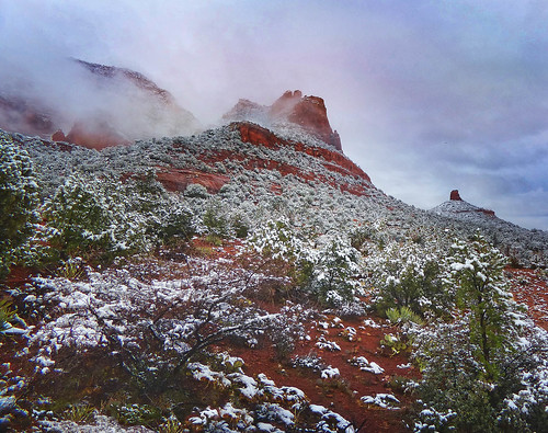 After the Snow - Sedona, AZ