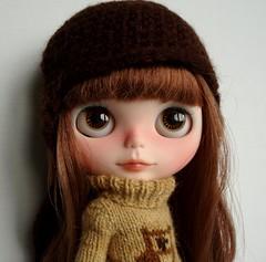 Nina is keeping warm
