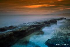 _DSC1750 (Avinash Susty) Tags: longexposure sunset seascape landscape slowshutter mauritius nikkor1855mm nikond3000