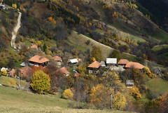 Radia ivkovi - So many roads IV (Radisa Zivkovic) Tags: road autumn mountain fall nature rural forest landscape countryside nikon scenery colorful europe village serbia wilderness aging extinction endoftheroad golija mountainmassif remoteareas mountainhouses