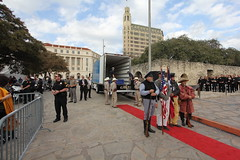 Travis Letter Arrival Ceremony at the Alamo 2.22.13 (Texas Stat