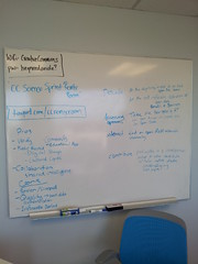 Open Science Brainstorming 3 (billymeinke) Tags: creativecommons openaccess opendata openscience p2pu openresearch opendataday schoolofopen odhd13