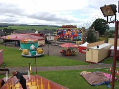 View of the ground (Robert Campbell 180) Tags: miami funfair sanquhar dodgem stirlings