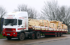 ERF EC11 V940 LKN (gylesnikki) Tags: white truck artic leominster conod