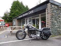 shovel (Dave of Cumbria) Tags: bikes harley cumbria custom keswick bikers shovelhead