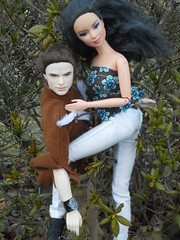 Week 5: Photo Two, Male Model Challenge: SHALLYN (barbie.basfash2013) Tags: kellanlutz barbieballerina twilightdoll barbielea barbieheadswap barbiekayla barbieasianballerina collectorkendoll emmettcullendoll emmettkendoll