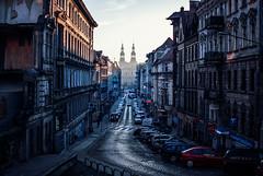 Ogrodowa (ewitsoe) Tags: street city morning winter sun cold church sunrise 35mm buildings early nikon europe cathedral poland springiscoming poznan d80 ogrodowa