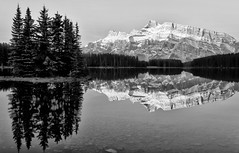 Banff Beauty at Two Jack Lake (Jeff Clow) Tags: albertacanada banffnationalpark canadianrockies twojacklake tpslandscape