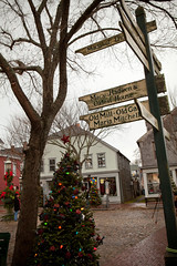Nantucket Holiday Stroll - Nantucket (Massachusetts Office of Travel & Tourism) Tags: christmas holiday shopping massachusetts decoration nantucket