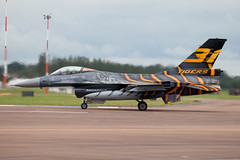General Dynamics F16-AM FA-87 (Newdawn images) Tags: airplane aircraft aviation jet airshow jetfighter riat generaldynamics raffairford militaryjet f16am belgiumairforce canoneos5dmarkii 31squadron fa87 generaldynamicsf16amfa87
