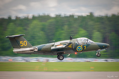 Saab SK 60A (hjakse) Tags: airshow sverige f3 fc linköping flugtag malmslätt flygvapnet sk60 saab105 försvarsmakten flyguppvisning svfm f13m östergötlandslän huvudflygdag