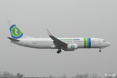 F-GZHE (EI-NJK) Tags: boeing 7378 transaviafrance fgzhe