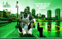 Kevin Garnett die Green ! (008Design) Tags: city boston kevin die basket live kg nba celtics stay grren garnett