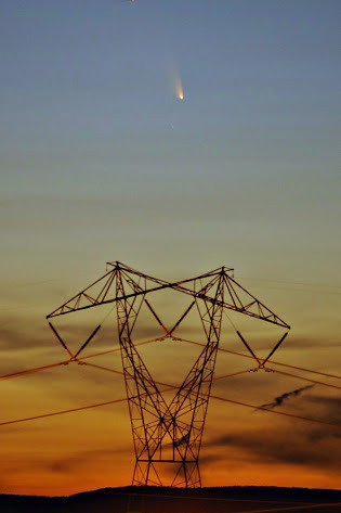 Comet PanSTARRS and power!