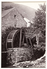 'Trefriw, the Old Water Mill' (National Media Museum) Tags: blackandwhite mill monochrome wales unitedkingdom britain conway cymru 19thcentury 1800s victorian topographical snowdonia conwy watermill albumenprint topography 1880s northwales civilengineering clwyd francisbedford nationalmediamuseum williambedford francisbedfordco