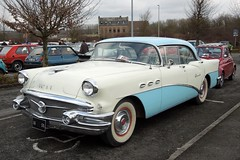 BUICK Special (1956) (xavnco2) Tags: france cars club sedan buick automobile expo antique special exposition american 1956 autos common bourse classiccars berline arras twotone pasdecalais bicolore 2013 ravera saintlaurentblangy ravera6a