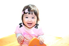 Baby Girl in Pink ( Spice (^_^)) Tags: portrait baby color girl smile face smiling japan female canon geotagged asian happy japanese infant asia child joy playtime tao   loveofmylife  babae tawa hija mukha     chubbybaby     sanggol cutelittlegirl 2013  naglalaro       rheinauratsuji cutefatgirl