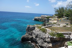 Rick's Cafe Negril Jamaica (RBD111) Tags: sunset west feet beautiful is cafe jump view little platform location cliffs end 35 incredible ricks coves highest cliffside unrivaled