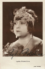 Lydia Potechina (Truus, Bob & Jan too!) Tags: 1920s cinema film sepia vintage germany deutschland star weimar silent russia postcard screen national german actress movies lydia russian deutsch deutsche mondial filmstar schauspielerin darstellerin irisverlag lydiapotechina potechina