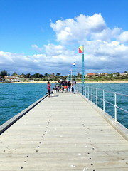 mar13 935 (raqib) Tags: blue sea sky beach mobile pier australia melbourne rc frankston iphone shadesofblue frankstonpier raqib raqibchowdhury