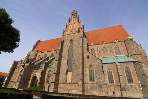 Kościół śś. Piotra i Pawła w Strzegomiu od południa