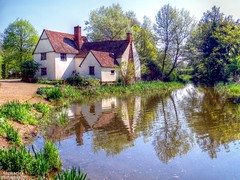 Hey Wayne! Where's This Place? (dogmarten28) Tags: sunshine suffolk spring village flatfordmill flatford johnconstable riverstour thehaywain willylottscottage abigfave babergh blinkagain bestofblinkwinners blinksuperstars dogmarten28